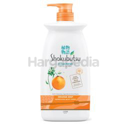 Shokubutsu Clean Fresh Orange Zest Refreshing Body Wash 900gm