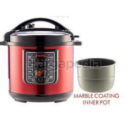 MMX Ewant MMXYBD8-135R Marble Coat Pot Pressure Cooker 1s