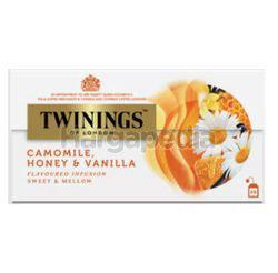 Twinings Chamomile Honey & Vanilla Tea Bags 25x1.5gm