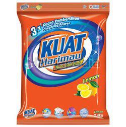 Kuat Harimau Detergent Powder Lemon 2.4kg