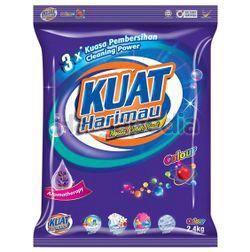Kuat Harimau Detergent Powder Colour 2.4kg