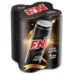 F&N Club Soda Water 4x325ml