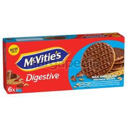 McVitie's Digestive To Go Milk Chocolate 199.8gm