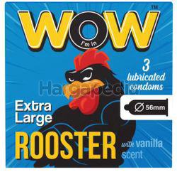 Care WOW Rooster Condom 3s