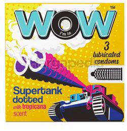 Care WOW Supertank Condom 3s