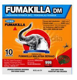 Fumakilla DM Coil 10s
