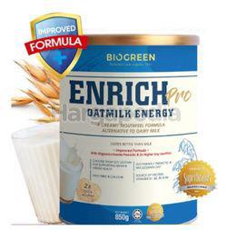 Biogreen Enrich Pro Oatmilk Energy 850gm