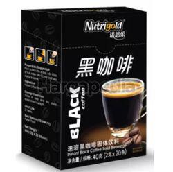 Nutrigold Instant Black Coffee 20x2gm
