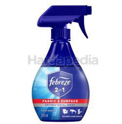 Febreze  2-in-1 Antibacterial Disinfectant Fresh Breeze 370ml