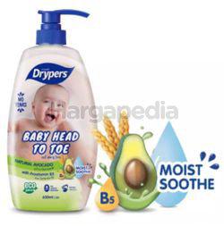 Drypers Baby Head to Toe Avocado 700ml