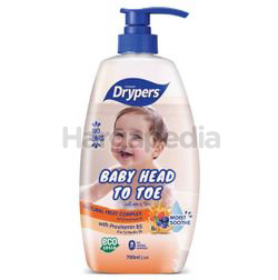 Drypers Baby Head to Toe Fruit Complex 700ml