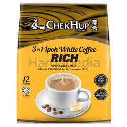 Chek Hup 3in1 White Coffee Rich 12x40gm