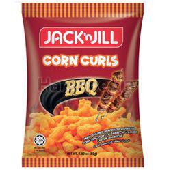 Jack N Jill Corn Curls BBQ 80gm