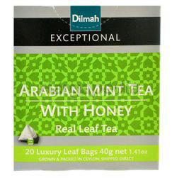 Dilmah Exceptional Arabian Mint Honey Luxury Leaf 20s